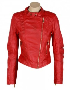 o-red-zip-pocket-leather-look-biker-jacket-22581