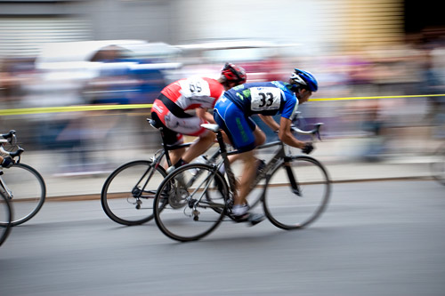 Bicycle racing