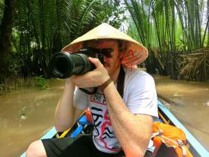 Sam-taking-photos-in-the-Mekong-Delta
